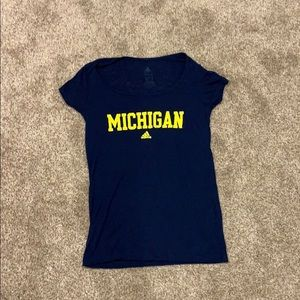 Michigan fitted tee